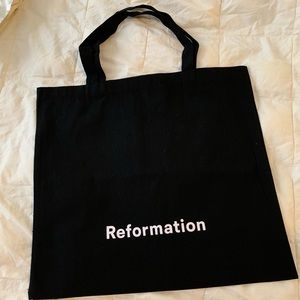 Brand New Reformation large tote bag